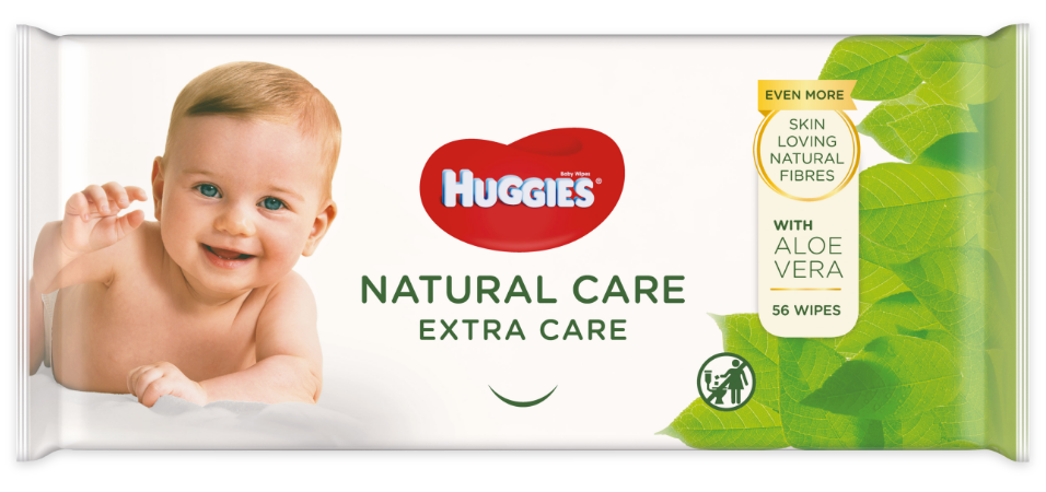 Huggies® Natural Care Extra Care wipes